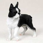 Boston Terrier gifts - boston terrier dog figurines