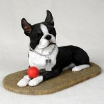 Boston Terrier dog figurines