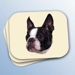 boston terrier gifts - dog mouse pads