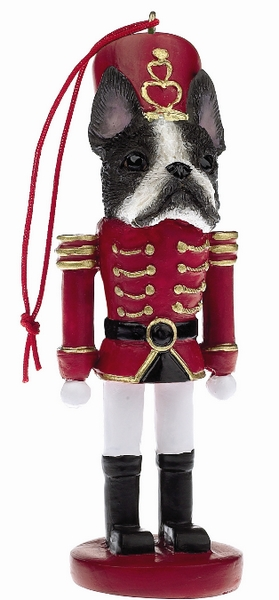 Boston Terrier Toy Soldier