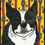 boston terrier gifts - stationery