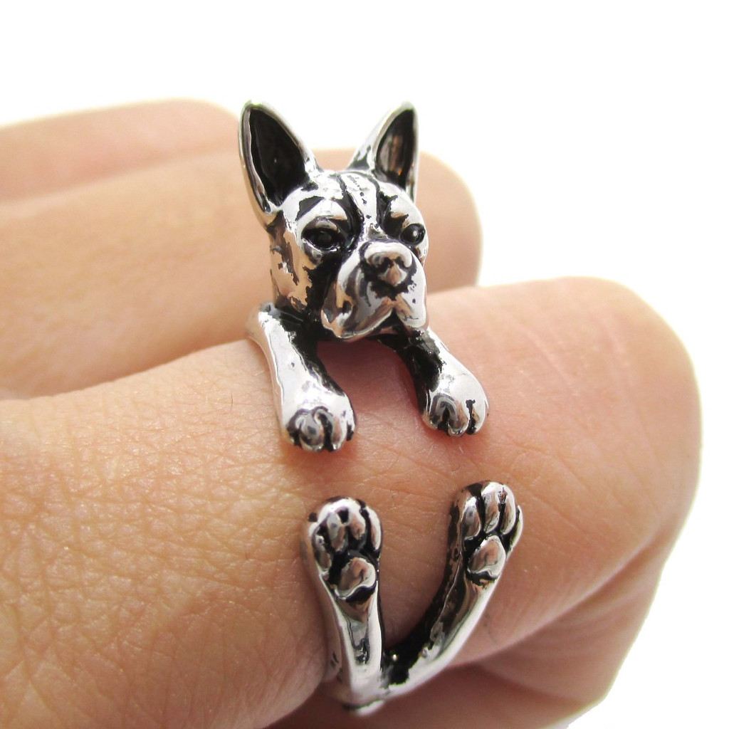 Silver Boston Ring