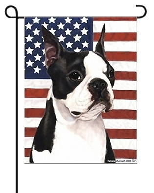 Boston Terrier Flags