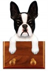 Boston Terrier Dog Leash Holder