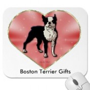 Boston Terrier Gifts Mousepad