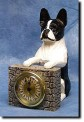 Boston Terrier Mantle Clock
