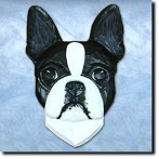Boston Terrier Paperweight