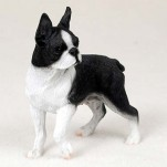 Boston Terrier Standing Figurine