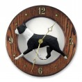 Hand Crafted Boston Terrier Wall Clock