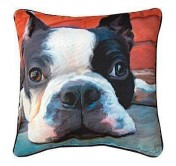 Moxley Boston Terrier Pillow