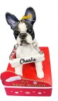 Personalized Best Buddy Boston Terrier Ornament