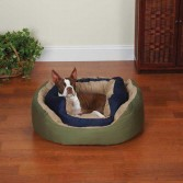 Slumber Pet Cozy Clamshell Dog Bed