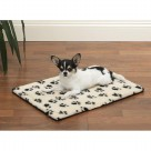 Slumber Pet Pawprint Dog Crate Mat