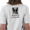 Womens Mommys Little Boston Girl T Shirt Back